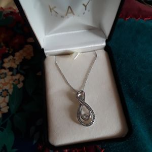 Kay Jewelers Jewelry - ☆STUNNING☆ DOUBLE INFINITY NECKLACE